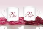 Herz-Tassen für Ja-Sager/in