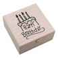 "Preview: Hufeisen-Box ""Happy Birthday"" und Torte"