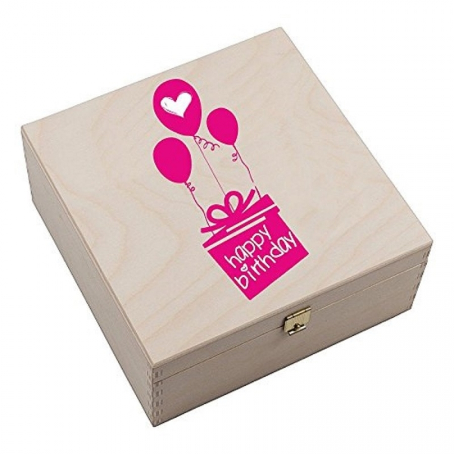 "Hufeisen-Box ""Happy Birthday"""